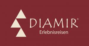DIAMIR_Erlebnisreisen_Logo_RGB_beige-auf-rot